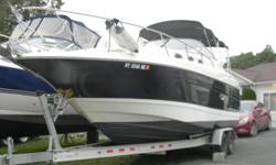 2003 REGAL 2765 COMMODORE/496 MAG BIII/AC/CAMPER/GPS/ALUM TRAILER/LOTS MORE Here is the Regal 2765. This high freeboard trailerable cruiser is rich in styling and quality. Loaded with the dockside and shore power amenities that make this cruiser a great