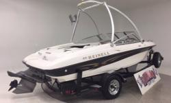 Super clean, way cheap!! Great performer!! Incredibly well maintained!! Comes with warranty. Nominal Length: 19' Engine(s): Fuel Type: Other Engine Type: Stern Drive - I/O Beam: 7 ft. 8 in. Fuel tank capacity: 28 Stock number: 7410