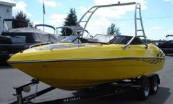2005 Reinell 200 LSE Sporty and sleek, the 200LS gives you the powerhouse performance and luxury to suit all of your needs. Rising quickly on plane and mastering open water on Reinell's R3 Step Hull, this model is truly a weekend warrior. A unique blend