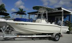2003 Scout 185 with a Yamaha 115 4 stroke with only 578 hours The Scout 185 Sportfish is designed for serious saltwater action with innovative features to impress even the most hard-core fisherman. Featuring cutting-edge design elements, the 185 offers an