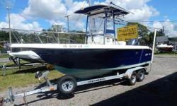 2003 Sea Fox 210CC on Continental trailer with a 2014 Yamaha 200 Hp 4 Stroke.  Boat has trim tabs, under water lights, dual batteries with battery switch, NEW Clarion Radio. Garmin 741XS with Radar. Outriggers, Down rigger mounts. T-top with weather