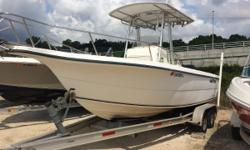 The sleek and spacious Sea Fox 230 Center Console comes with just the right features for every kind of fun a boater can fathom. Comes equipped with a Lowrance HDS 8 with radar. The radar antenna, Lowrance RDR 1021,is not mounted but is included,
