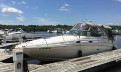 ***PRICE REDUCTION!!!*** This 2003 Sea Ray 280 Sundancer is immaculate and a must see! It has been professionally maintained by Kings Cove Marina the past 3 years and records areavailable. This boat alsocomes with a 2004 triple axle Prestige