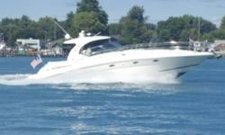 PRIDE OF OWNERSHIP SHOWS THROUGHOUT THIS 2003 SEA RAY 420 SUNDANCER -- PLEASE SEE FULL SPECS FOR COMPLETE LISTING DETAILS. LOW INTEREST EXTENDED TERM FINANCING AVAILABLE -- CALL OR EMAIL OUR SALES OFFICE FOR DETAILS. Freshwater / Great Lakes boat
