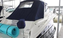 BRAND NEW LISTING! Cummins 6CTA 8.3M Diesels - ONLY 355 HOURS 9kW Onan Diesel Generator - 1257 Hours 2003 Sea Ray 420 Sundancer - BRAND NEW BOTTOM PAINT - MARCH 2018 Hydraulic Swim Platform - Custom Canvas - DON'T MISS THIS BEAUTY!! Sleek