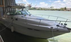 2003 Sea Ray Sundancer 340 New gas Engines installed 2015 The boat has been kept in very good conditions Washed and polished once a week Sleeps 4 Anchor AM FM radio Depth Sink Unit is located in Los Fresnos TX. Financing Nationwide Shipping and Warranties