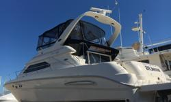 2003 45' Sea Ray Express Bridge -- Preferred 2 Stateroom / 2 Head LayoutUpgraded Cummins 480CE Diesels w/ SmartCraft (450 Hours) & 242 Hours on Generator Loaded with Options: Hydraulic Swim Platform, Bow Thruster, Shore Power ISO Boost + Much More!! Well