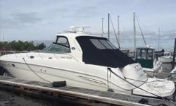 $10,000 PRICE REDUCTION -- OWNER WANTS THIS TO BE THE NEXT 460 SUNDANCER SELL2003 46' Sea Ray Sundancer -- Well Maintained White Hull Vessel with Hard Top -- New Upholstery on Exterior Seating Loaded with Upgrades: Cummins 480CE Diesels, Hydraulic Swim