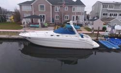 2003 SEA RAY SUNDANCER New Lawrence fishfinder/depth finder as well as GPS,2 satellite tvs, radar, full fridge and freezer, full shower and toilet, sleeps 6, new exhaust, new carpeting for cockpit and more!