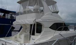 2003 Silverton 38 with Twin Crusader Engines Length Overall 40?2? Beam 14?3? Draft 4?2? Approx. Type: Power Year: 2003 Length: 38' Price: $172,000.00 City: Wappingers Fall State: New York Engine: Crusader 8.1 MPI Engine Count: Twin Engine Hours: 410