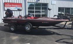 THE GREAT OUTDOORS MARINE - THE FUN STARTS HERE! 2003 SKEETER TZX 190 - RED 2003 YAMAHA 150 EFI VMAX 4-STROKE 2003 SINGLE AXLE TRAILER Humminbird 690ci HD GPS fish graph at console Humminbird fish finder on bow MinnKota Maxxum 70# 24V trolling motor on