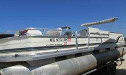 2003 SunTracker 25 Fishing Barge w/ Mercury 75, Tracker trailer Nominal Length: 25' Engine(s): Fuel Type: Other Engine Type: Outboard