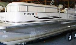 This boat is is in great shape and has a new interior. -90hp Johnson O/B -Fish finder -Newer stereo head unit with bluetooth -12V outlet -Dual batteries with battery switch -Priced without trailer. With NEW trailer, $13,762 Beam: 8 ft. 0 in. Depth fish