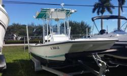 Just In On Trade 2003 Twin Vee 19? Center Console Powered By 2012 Suzuki 115 Four Stroke. Equipped With 2011 Web On Tandem Axle Aluminum Trailer, Oversized T-Top, Dive ladder, Dive Tank Holders, Furuno GPS, Humming Bird Fish Finder, VHF Radio, Large Live