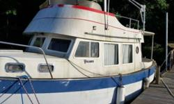 1987 Willard Trawler Radar depth finder 4 4 cylinder diesel motor 300 gal fuel tank gives her a 1400 Mile crude range Shower Toilet Kitchen Even has a washer and dryer Unit is located in Lake Barkley KY. Financing Nationwide Shipping and Warranties
