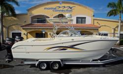 2003 World Cat 250 DC Dual Console, Marine Connection: South Florida's #1 Boat Dealer! Cobia, Hurricane, Sailfish Pathfinder, Sportsman, Bulls Bay, Rinker & Sweetwater new boats plus the largest selection of pre-owned boats. View full details and 51