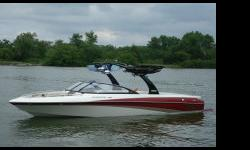 Luxury Meets Sport The Sunscapes V25 Diamond hull slices through the water with precise ease. Couple this with Malibus Gorilla tracking fins, Teleflex rack and pinion steering and youve got a piece of heaven that offers family water sports enthusiasts the