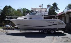 2004 PROLINE 26 WA 2004 Proline 26 WA, Tops out at over 50 mph and built to run..This extra clean well cared for top quality walkaround is powered by a rare 6.2L MPI Mercruiser V-8 (370 hours) coupled to a Bravo 3 drive...Package inlcudes a Loadrite