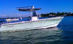2004 Sailfish 266 Call Boat Owner Gregg 937-604-9375. New steering control cables, tri axle trailer, Basic Decription: Newly rebuilt engines, new bilge pumps, new headpump, new fresh water washdown pump, new battery switches, newupholstery, new full