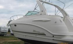 SELLER WANTS THIS BOAT TO BE THE NEXT CHAPARRAL SOLD! Original owner. Barely used. 45 hours on the twin 5.0 Litre GXI Volvo Penta's. Snap in carpets, table covers, upholstery in perfect condition.. AC/Heat, Hot water, Cockpit wet bar. Large dinette
