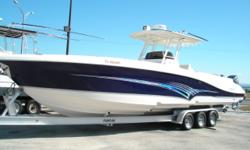 """2004 DEEP IMPACT 36 FS W/ TRIPLE 300 YAMAHA HPDIs only 189 hours,Twin Furuno Nav Nets w 12"""" screens,12 kw radar,auto pilot,Twin I Com radio Stereo system this boat has custom hard top with Taco Outriggers. Boat Comes With 2 years warranty from Yamaha."""