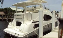 DRASTIC PRICE REDUCTION OCTOBER 13, 2010!!! SELLER WANTS THIS BOAT SOLD IMMEDIATELY BRING ALL OFFERS!!! This 39 Silverton Motor Yacht is loaded with equipment. Low hours on upgraded 8.1 Crusader Captains Choice Motors, 10 kW Kohler generator,