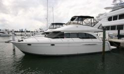 """Vessel WalkthroughThe expansive salon is arranged with the galley and dinette forward. Ample room for entertaining inside or out. From the seating for six on the bridge to the large cockpit your family or guests will have plenty of room. """"Dulcimer"""" has"""