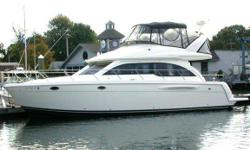 2004 Meridian 411 Sedan Call owner Tony @ 203-952-8844. This boat is very clean with approx 450 hours. Has a full Raymarine Electronics suite on the fly bridge. Is very well equipped with two staterooms, two heads, three TVs, washerdryer, central vacuum,