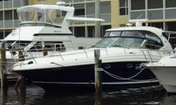"""More Category: Powerboats Water Capacity: 100 gal Type: Express Cruiser Holding Tank Details:  Manufacturer: Sea Ray Holding Tank Size: 42 gal Model: 420 Sundancer Passengers: 0 Year: 2004 Sleeps: 0 Length/LOA: 42' 0"""" Hull Designer:  Price: $229,000 /"""