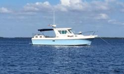 """""""Kathryn B"""" is an one owner, outstanding, meticulously maintained vessel. Ordered with the preferable Yanmar 315, she shows owners pride everywhere you look. Log books and records from day one when she was new, all services up to date, new"""