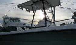 NEW INVENTORY 2004 Angler 220DF This Angler 220 DF is a nice Center Console w/ T-Top & a 150 hp Mercury Motor, ready for the water! This boat comes w: Mercury 150 hp 2 stroke T-Top w/ Fiberglass T-Top Rocket Launchers w/ Spreader Lights SS Prop Dual