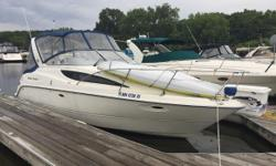 PRICE REDUCTION!!! The 2004 Bayliner 285 is the perfect entry-level boat and features air conditioning, a MerCruiser 350 MAG MPI engine with Bravo Three drive and 2018 Dockage and Winter Storage at King's Cove Marina. Recent service work in 2018 includes