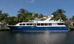 Very motivated Seller.  All offers will be considered!  With a combination of old world charm and exquisite naturally finished cherry woodwork, Entrepreneur is easily one of the youngest Broward's available at present. Covered aft deck offers