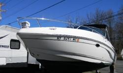 *** W/MERC 5.0MPI/BIMINI-COCKPIT COVER/NEW TRAILER/ *** The boating industry and the consumer alike, equate Chaparral with quality, value and superior worksmanship!. This 23' cuddy cabin boat from Chaparral features just that! It is powered by the