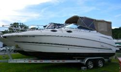 *** W/MERC 350 MAG BIII/BIMINI-ENCL/CAMPER/TRAILER/ *** Here is another quality boat from Chaparral ,the 240 Signature. This trailerable pocket cruiser is very versatile and gives you the flexibility to move her around to any number of bodies of water,