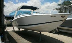 2004 Cobalt 262 located in Ft Pierce Florida. Great boat for family fun! Call for details! Nominal Length: 26.7' Max Draft: 3.3' Drive Up: 1.8' Draft: 3 ft. 3 in. Beam: 8 ft. 6 in. Fuel tank capacity: 70 Stock number: FP