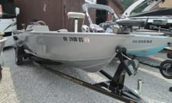 2004 CRESTLINER 18? CANADIAN / MERCURY 50HP EFI 4ST. / TRAILER What a great tiller fishing machine equipped to be water ready! The boat is in excellent condition inside and out. Tons of fishing space. Package includes a 55# thrust MinnKota electric at the