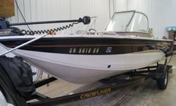 """SALE PENDING 2004 Crestliner Sportfish 1850 O/B When your Parents said """"Life isn´t all fun and games,"""" they lied. They didn´t mean to. They just didn´t have a Sporfish that proved them wrong. Because the games never end when you spend a glorious summer"""