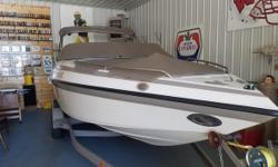 2004 Crownline 240 ex Bow Rider Custom Trailer Mourning Covers Bimin Top Compact Disc Swim Ladder Swimplatform New Carpet 2016 350 Magnum Engine Well Maintained Stored Inside Great Family Boat. Located in Chippewa Falls WI Financing Nationwide Shipping