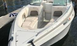2004 Crownline 270 Bowrider Lake Minnetonka area. Well maintained. Low hours loaded. Merc cruiser 6.2 New stereo and speakers. New carpet. Optional 3 year old Tandem Trailer for additional $3000. Located in Excelsior MN. Financing Nationwide Shipping And