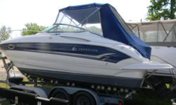 One of the top of the line sport cruisers today is built by Crownline Boats. With its; contemporary lines , styling and beautiful fit and finish, this is one sharp looking cruiser and sure to turn an eye!. This is the 270 CR, it was built and designed as