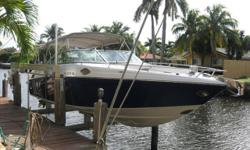 *****$5,000 PRICE REDUCTION -- OWNER SAYS SELL*****2004 Crownline 288 BR -- Lift Kept Vessel in Great Condition -- Freshly Detailed & Ready To Go Loaded with Upgrades: Twin 5.7L Volvo's, Bow Thruster, Garmin 5212, Cockpit Refrigerator, Windlass + Much