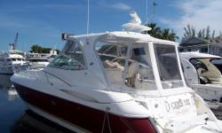 Price reduced to sell and ready to cruise!!! She is the only yacht in her class with a full-beam master stateroom and a fantastic maximum use of space offering the interior of a motor yacht, with the speed and styling of an express! Two staterooms, two