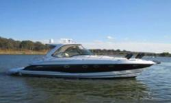 This big Express Cruiser is loaded with every available option. TNT lift with 40 hp center-console tender, underwater lights, electric walk-thru windshield, KVH Satellite, fishfinder, air conditioned, bow & stern thrusters and so much more. Call the