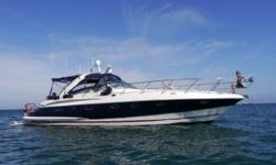 Just traded in this unique yacht. This yacht is a true blue water boat with great lines and a great sea keeping in open water; The boat is loaded including a hydraulic swim platform, full electronics and full two staterooms. The customer loved this yacht