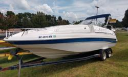 2004 Ebbtide Mystique 2400 This boat was a one owner here on Lake Norman. Extremely nice. Plenty of Room for everyone to have fun ! Bow and Cockpit cover, Bimini top, Extended swim platform, cockpit carpet,, Storage compartment, Enclosed head and changing