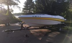 Low hours. Professionally maintained. Great condition. Freshly tuned-up. Includes an electric hoist. This boat is off site. Please call ahead to see. Trades considered. Engine(s): Fuel Type: Gas Engine Type: Stern Drive - I/O Quantity: 1