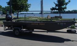Duck, duck, goose!! This is a pretty impressive, stout built water fowl boat. All non skid rubber on floor, great bow lights, super storage. This is one of those boats that you can do almost anything and get away with it. Ok, just don't tell my wife. She