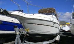 *** W/VOLVO 5.0 GXI/BIMINI-CAMPER/SPOTLIGHT/TRAILER/ *** Here is a trailerable pocket cruiser that will give you the flexibility to enjoy a weekend on the water or take the boat to whatever body of water you choose! This package by Glastron Boats has all