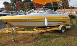 2004 Glastron GX 185 Beam: 7 ft. 7 in. Hull color: Yellow/White